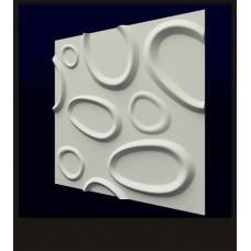 Гипсовая 3D панель CALIPSO Брызги (Калипсо) 500*500*20мм (под заказ от 10м2)