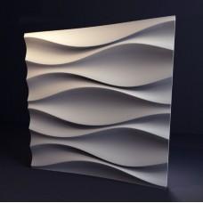 Гипсовая 3D панель CALIPSO Бутоны (Калипсо) 500*500*30мм