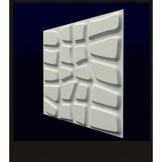 Гипсовая 3D панель CALIPSO Данди (Калипсо) 500*500*20мм (под заказ от 10м2)