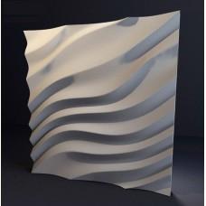 Гипсовая 3D панель CALIPSO Дюны (Калипсо) 500*500*30мм (под заказ от 10м2)