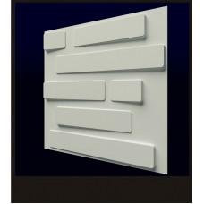 Гипсовая 3D панель CALIPSO Кладка (Калипсо) 500*500*20мм (под заказ от 10м2)