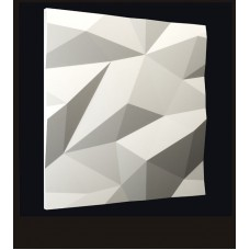 Гипсовая 3D панель CALIPSO Кристалы (Калипсо) 500*500*25мм
