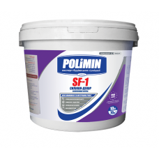 ПОЛИМИН SF-1 Силикон-декор Фасадная силиконовая краска, 14кг