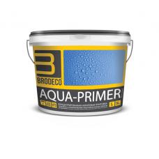 BRODECO Aqua-Primer Грунтовка акриловая глубокого проникновения 1:5 (Бродеко), 5л