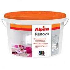 Краска интерьерная Альпина Ренова (Alpina Renova), 10л