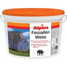 Фасадная краска ALPINA Fassaden Weiss (Альпина), 10л