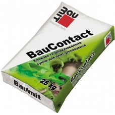 BAUMIT Baucontact Смесь для приклеивания и армирования пенопласта (Баумит Бауконтакт), 25кг