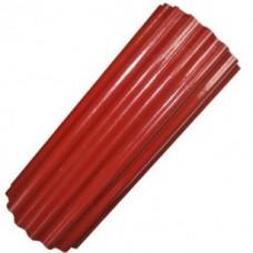 Шифер прозрачный гофрированный ВОЛНОПЛАСТ 2х15м (бордовый)