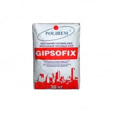 Клей для гипсокартона  ПОЛИРЕМ СШТ-171 Gipsofix, (Polirem) 25кг