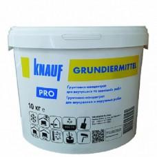КНАУФ Грунтовка концентрат 1:5 Грундирмиттель  (Knauf Grundiermittel), 10л