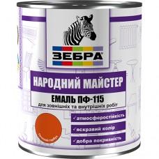 Эмаль ПФ 115 ЗЕБРА (2,8 кг)