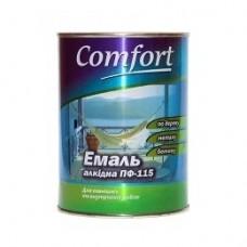 Эмаль ПФ 115 Комфорт Белая 0,9 кг (Харьков)