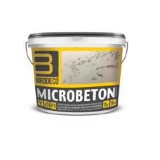 BRODECO Microbeton Декоративная штукатурка (Бродеко Микробетон) мелкозернистая, 15кг