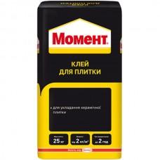 МОМЕНТ Клей для керамической плитки, 25кг