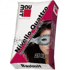 BAUMIT Nivello Quattro Самовыравнивающаяся смесь для пола (Баумит Нивелло Кватро) 25кг