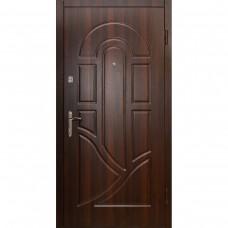 Дверь входная Ферум Мила орех темный (Feroom)