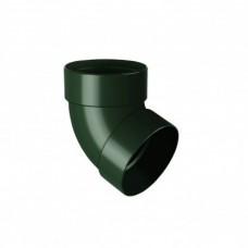 RainWay Отвод двухмуфтовый 67° водосточной системы 75мм