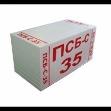 Пенопласт ПСБ-С 35 плотность (Харьков), 100мм (16кг/м3)