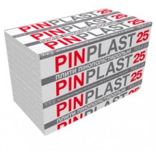 Пенопласт PINPLAST 25 плотность (Пинпласт Харьков), 100мм