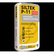 SILTEK P-11 Штукатурка цементная стартовая (Силтек), 25кг