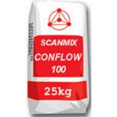 Легковыравниваемая и быстротвердеющая смесь SCANMIX Conflow 100 (Сканмикс), 25кг