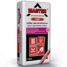 Мастер Флекс Эластичный клей для плитки (Master Flex), 25кг