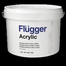 FLUGGER Acrylic Краска акриловая глубоко-матовая для потолков (Флюгер Акрилик) 10л