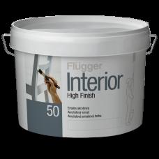 Полуглянцевая акриловая эмаль FLUGGER Interior High finish 50 (Флюгер)