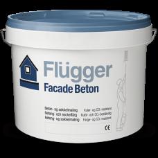 FLUGGER Facade Beton акриловая краска для фасадов и цоколей (Флюгер), 10л