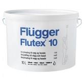 Акриловая краска для стен и потолков FLUGGER Flutex 10 (Флюгер Флутекс 10), 10л