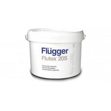 FLUGGER Flutex 20S Полуматовая акриловая краска (Флюгер Флутекс 20С), 10л