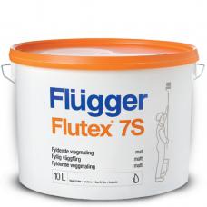 FLUGGER Flutex 7S Латексная краска для стен и потолков (Флюгер Флутекс 7С), 10л