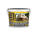 BRODECO House paint Фасадная краска с воском (Бродеко), 10л