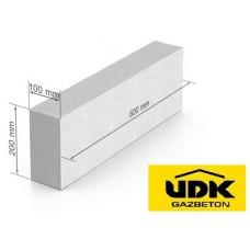 Газоблок UDK (Газобетон ЮДК) 100*200*600 прегородочный