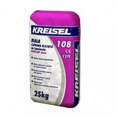 KREISEL 108 Клей для натурального камня белый, 25кг (Крайзель)