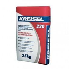 KREISEL 220 Смесь для приклеивания и армирования пенопласта, 25кг (Крайзель)