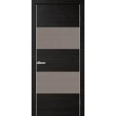 Межкомнатная дверь ОМИС Cortex Alumo 04 graphite