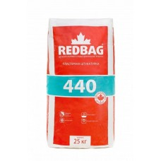 REDBAG 440 Пластичная цементная штукатурка (Редбег) 25кг