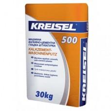 KREISEL 500 Штукатурка машинная цементно-известковая, 25кг (Крайзель)