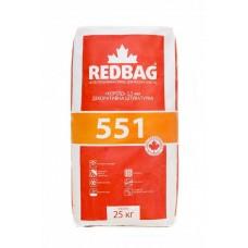 REDBAG 551 Декоративная штукатурка короед 2,5мм белая (Редбег) 25кг
