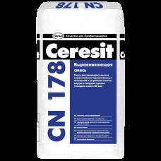 CERESIT CN 178 Легковыравнивающаяся смесь (15-80мм), 25кг