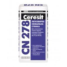 CERESIT CN 278 Легковыравнивающаяся стяжка (15-50мм), 25кг