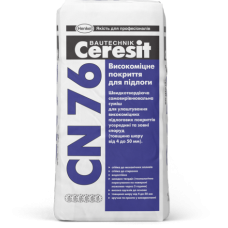 CERESIT CN 76 Высокопрочное покрытие для пола (4-50мм), 25кг