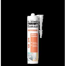 CERESIT CS 24 Герметик силиконовый универсальный (белый), 280мл