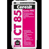 CERESIT CT 85 Смесь для приклеивания и армирования пенопласта, 25кг