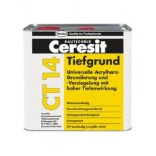 CERESIT CT 14 Грунтовка универсальная глубокопроникающая, 5л (Церезит)