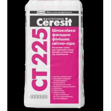 CERESIT CT 225 Шпаклевка фасадная финишная (белая), 25кг