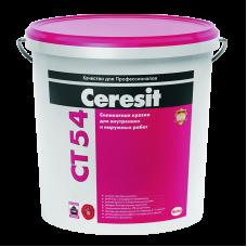 CERESIT CT 54 Краска фасадная силикатная, 10л (Церезит)