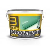 BRODECO Ecopaint Акриловая краска на водной основе для внутренних работ (Бродеко), 10л