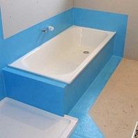 Гидроизоляция для ванной: трудности выбора